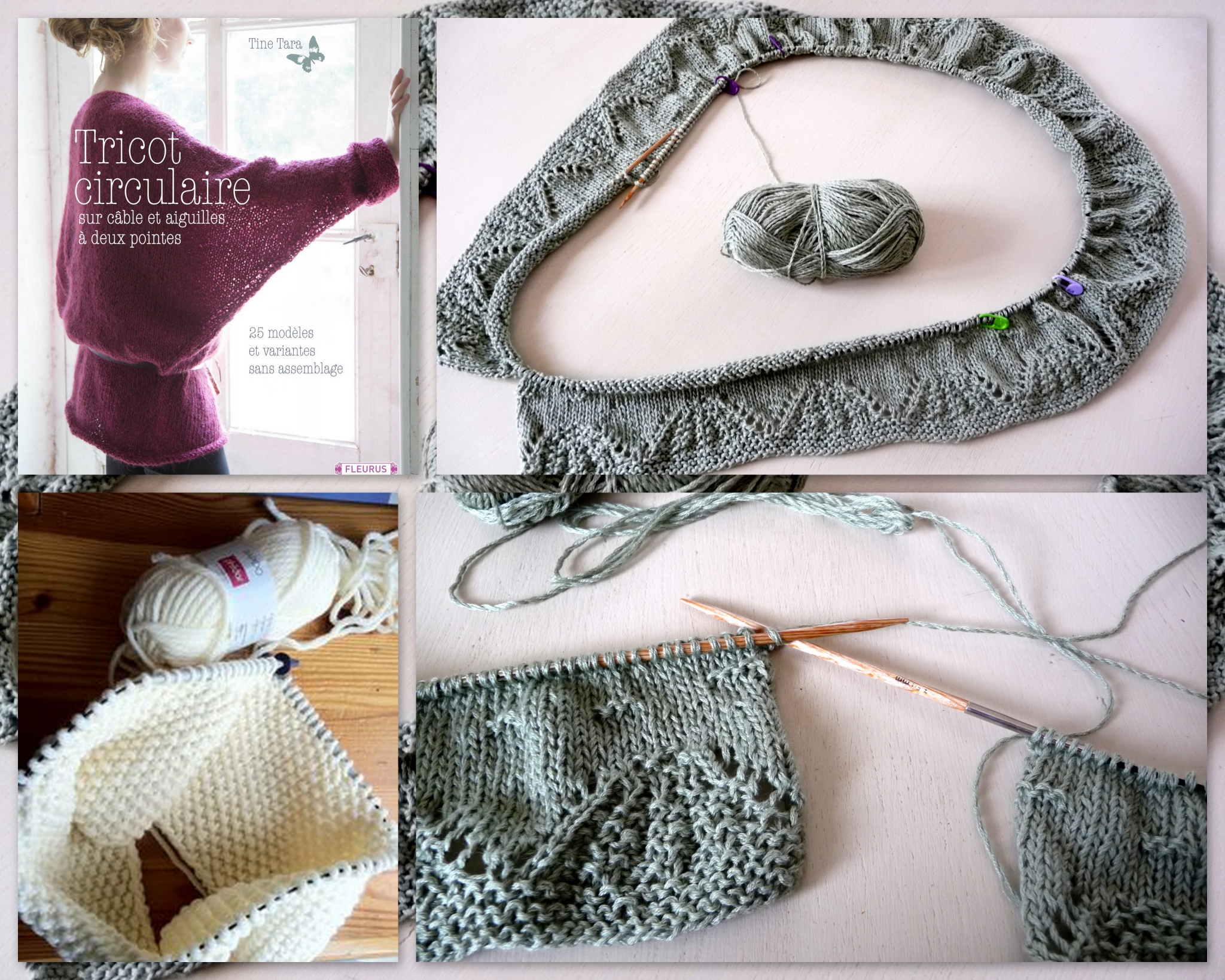 Fermer tricot aiguille circulaire