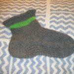 Tricot chaussettes augmentation