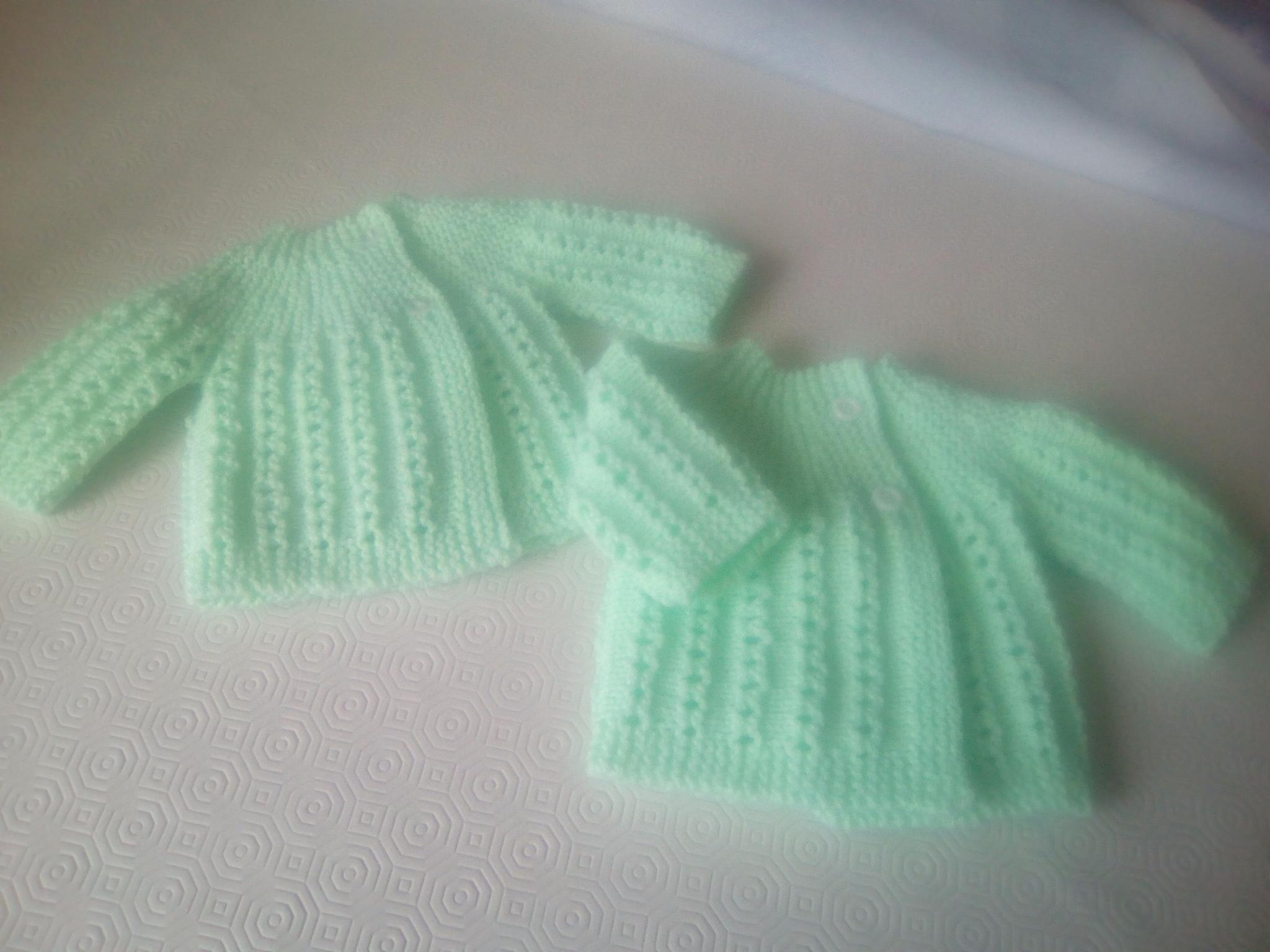 Brassiere tricot crochet