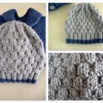 Hauteur bonnet femme tricot