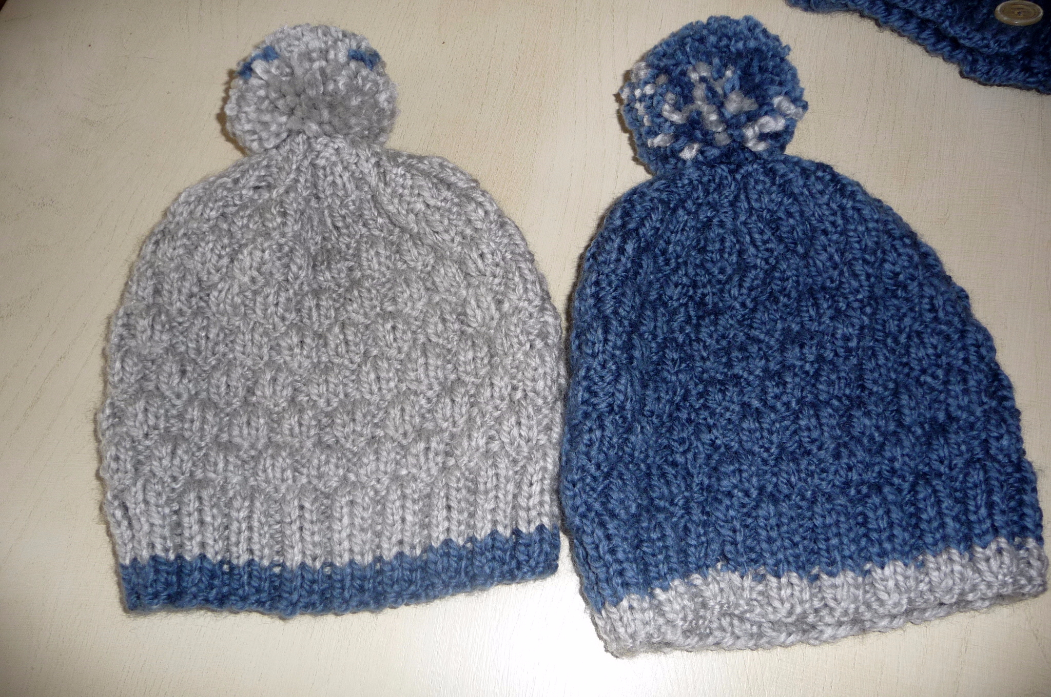 Bonnet bebe tricot bergere de france