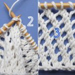Point tricot tres ajoure