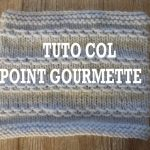 Tricot col aiguille circulaire