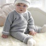 Modele tricot ensemble bebe gratuit