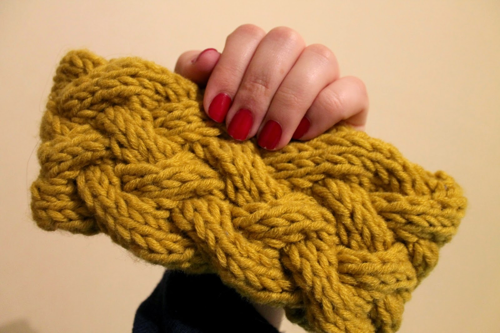 Headband tricot aiguille 10
