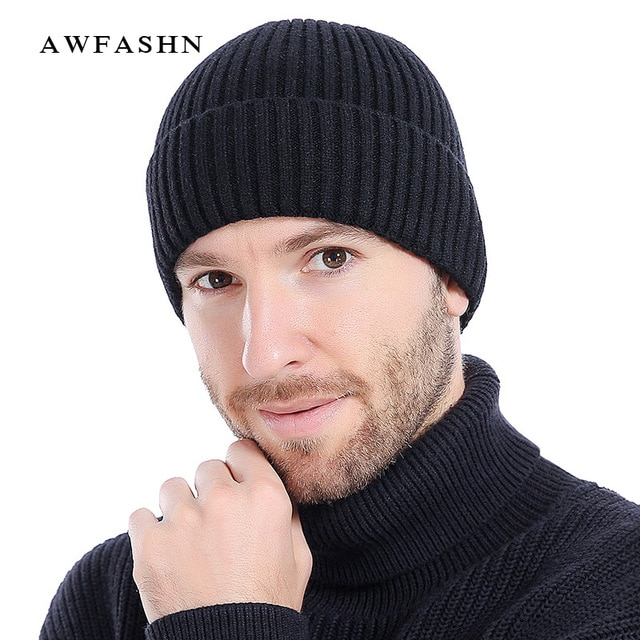 Tricoter bonnet ski homme