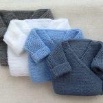 Tricot brassière laine