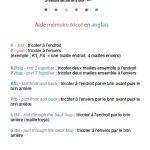 Modeles de tricot anglais traduit en francais