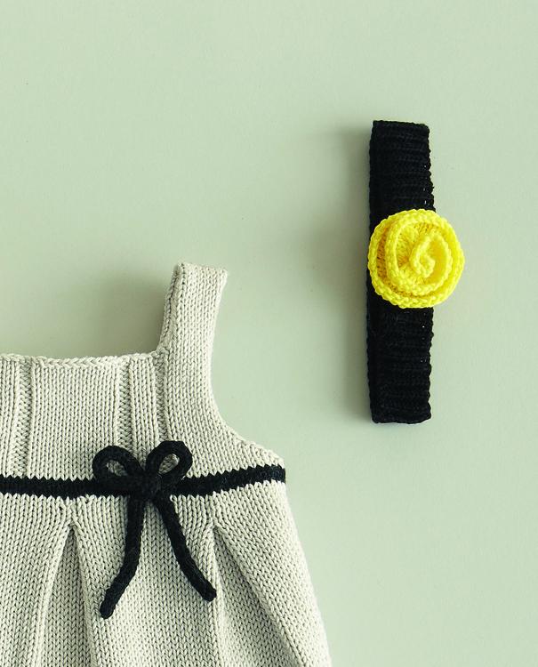 Bandeau tricot bébé gratuit