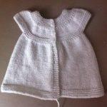 Tricot layette robe gratuit