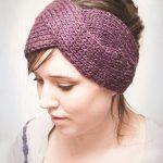 Headband tricot twist