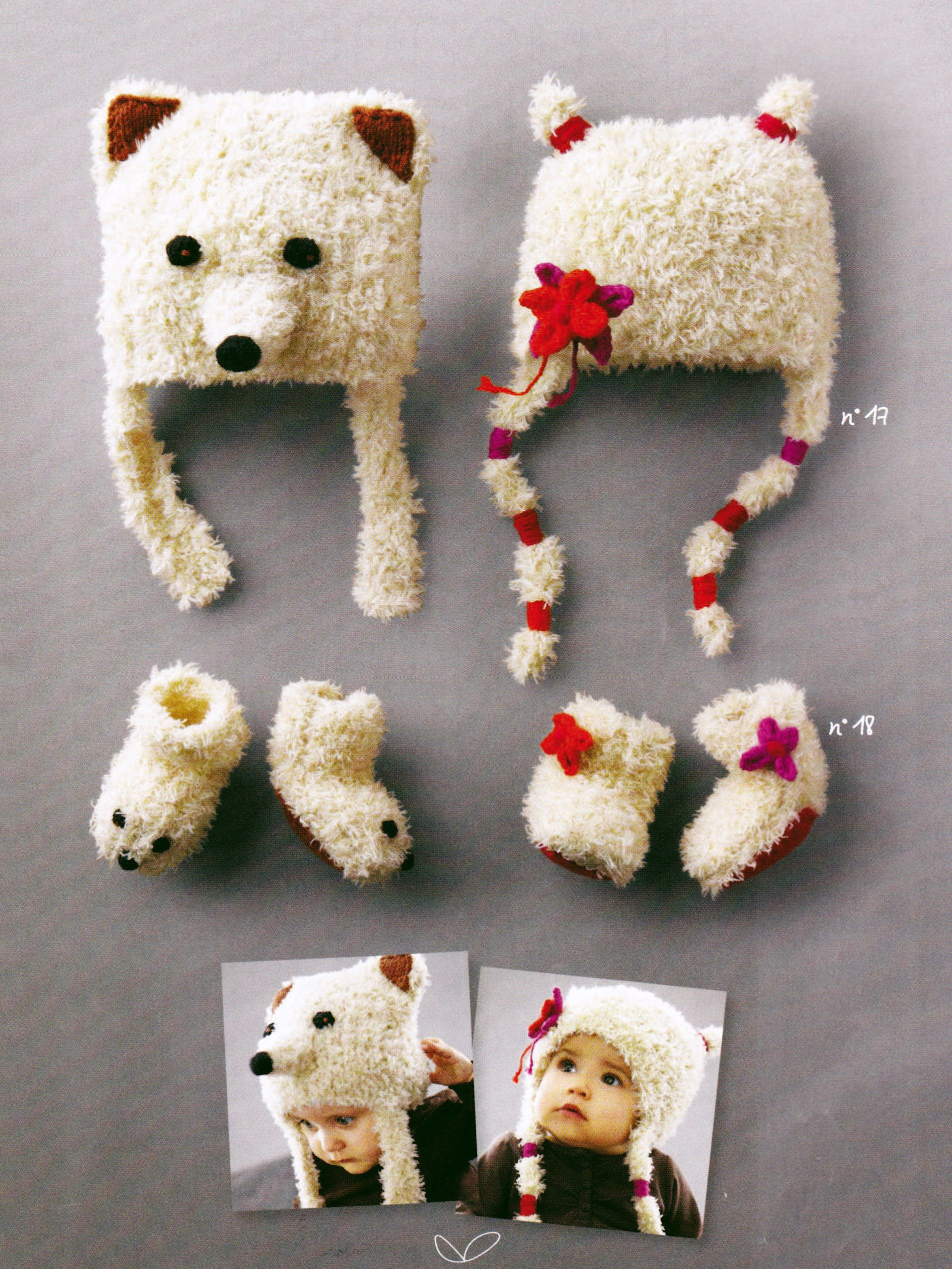 Grille tricot bébé animaux