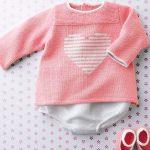 Modèle tricot layette gratuit explication