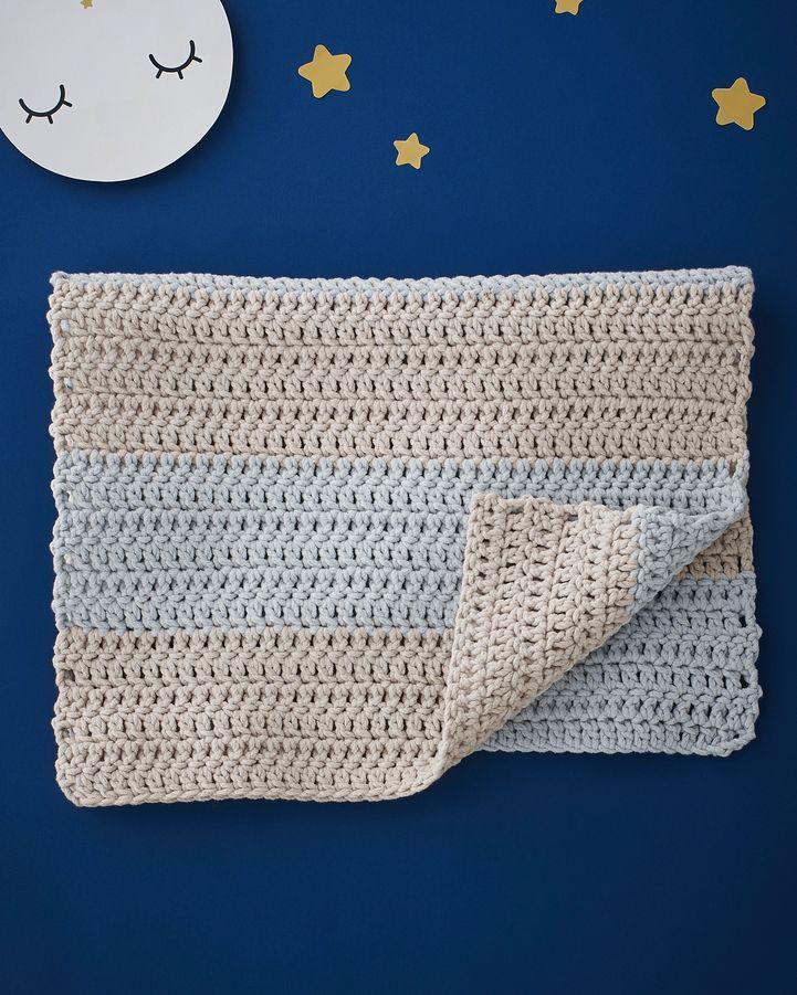Kit tricot debutant couverture bebe