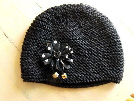 Tricoter un bonnet fille 5 ans