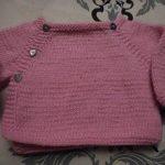 Tuto tricot brassiere bebe 3 mois