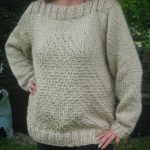 Tricot pull aiguille 8