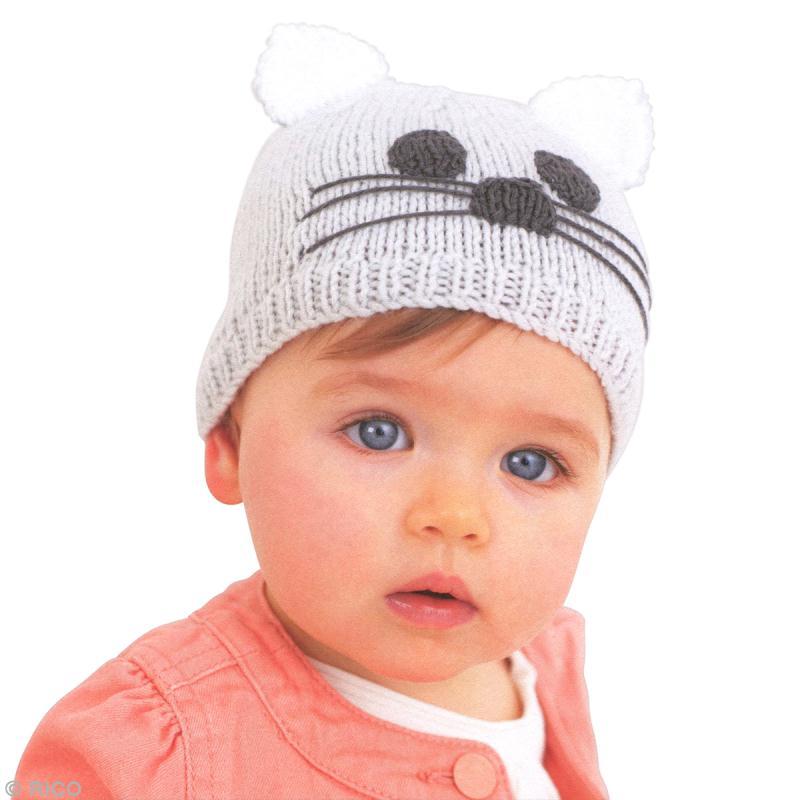 Tricoter un bonnet bebe au crochet