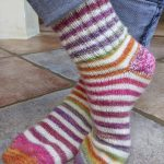 Modele chaussette tricot aiguille circulaire