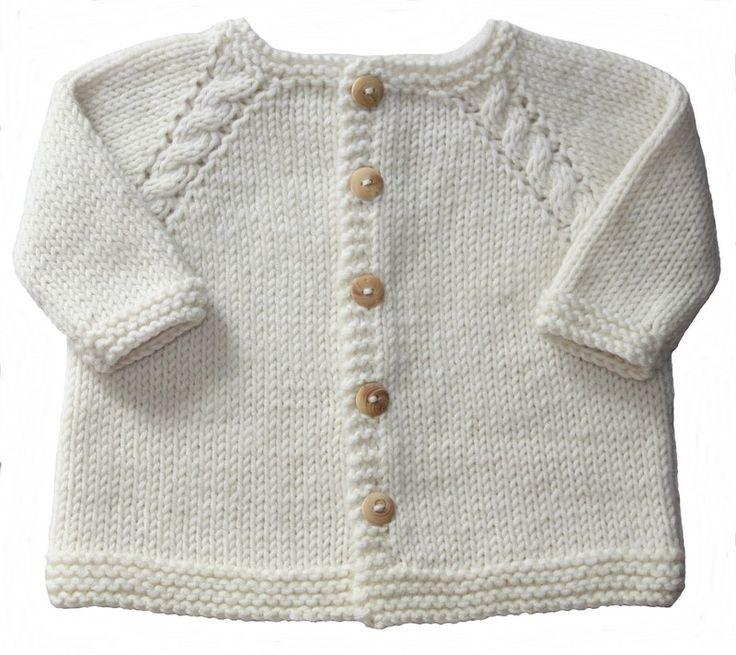 Patron gilet tricot bebe gratuit