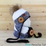 Patron tricot tuque animaux