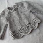 Brassiere au tricot pour bebe