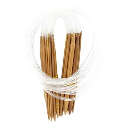 Aiguille tricoter en bambou