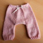 Sarouel tricot bébé gratuit