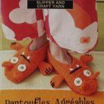 Tricot pantoufle animaux