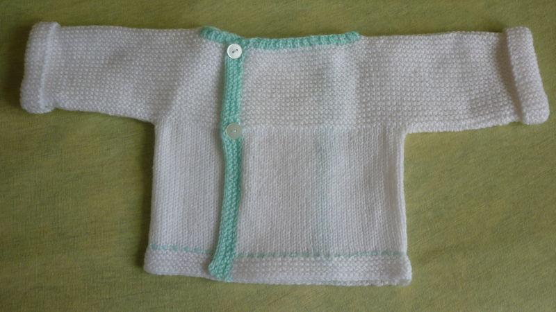 Brassiere tricot tres facile