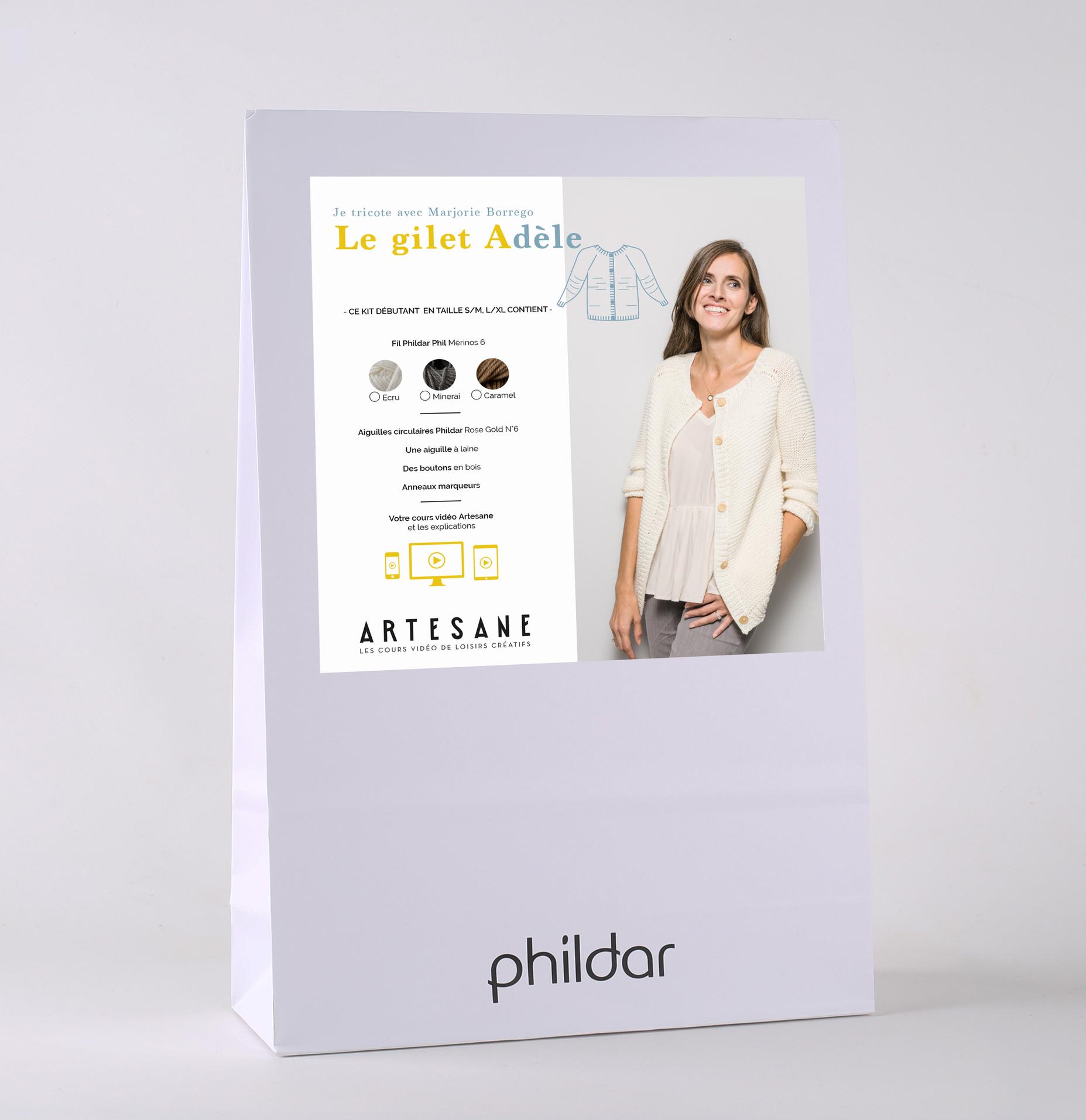 Anneau marqueur tricot phildar