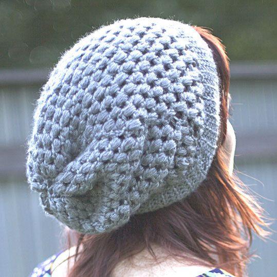 Tricoter bonnet femme au crochet
