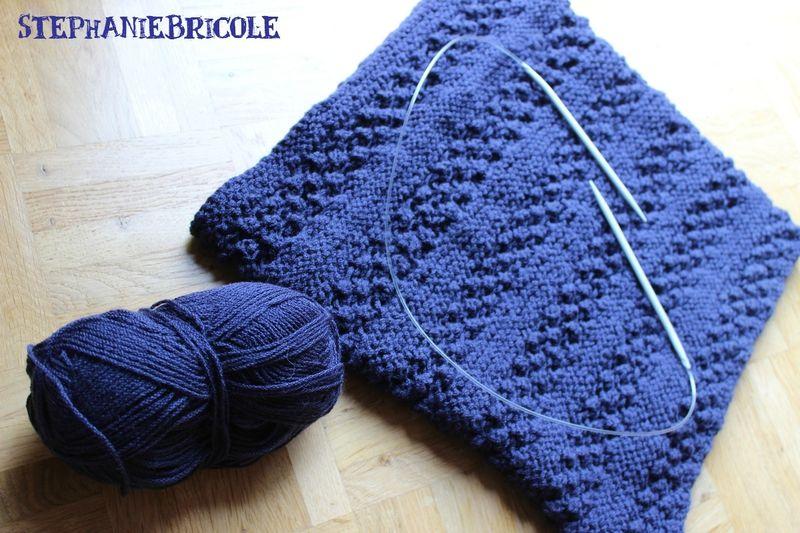 Tricoter avec une aiguille circulaire comment faire
