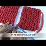 Apprendre tricot point mousse