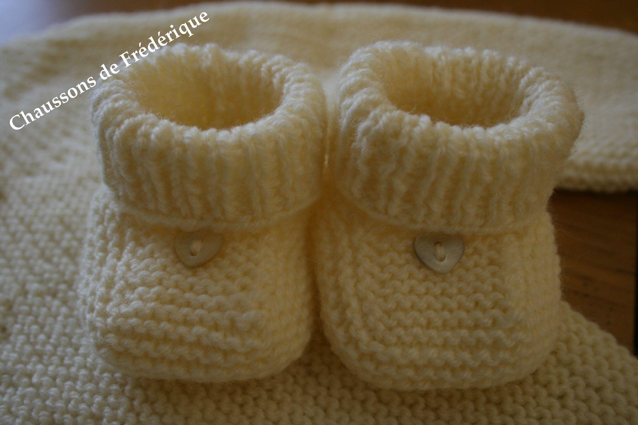 Apprendre tricoter layette facile