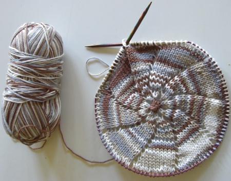 Tricoter en rond tuto
