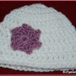 Tricot bonnet bébé crochet