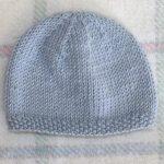 Tricoter un bonnet bébé en rond