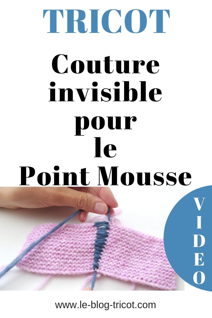 Tricot assemblage point mousse