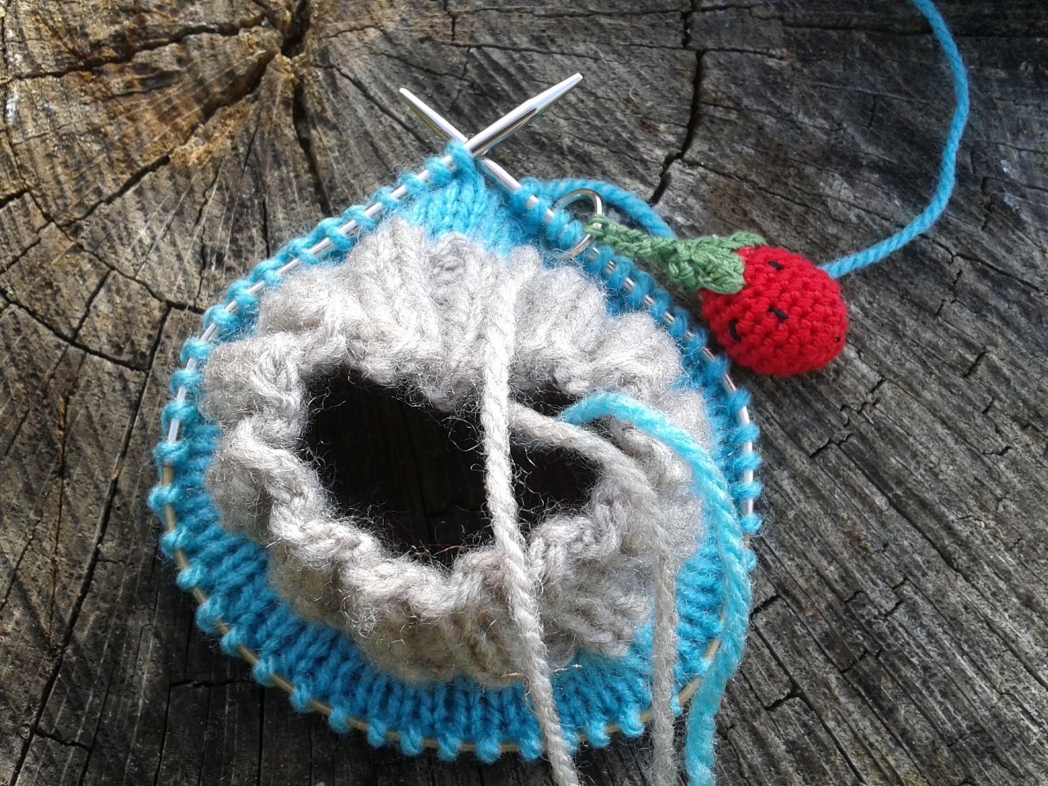 Tuto chaussette tricot aiguille circulaire - Tout pour le bébé