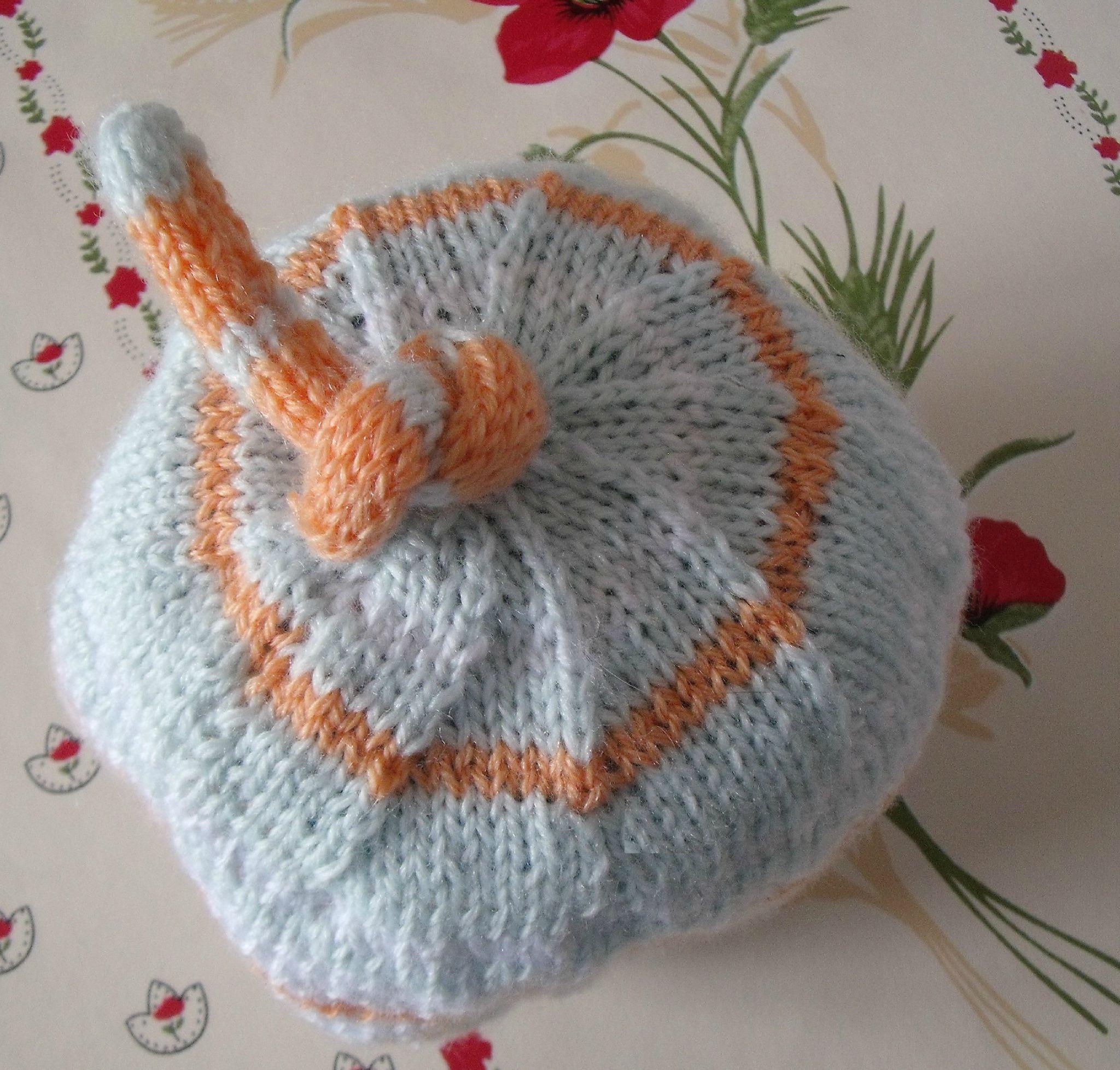 Tuto tricot bonnet bébé rigolo