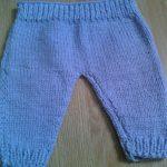 Modele tricot short bebe gratuit