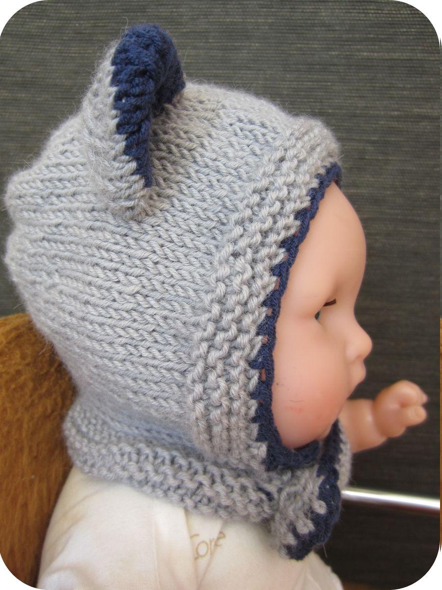 Tuto tricot bonnet bebe 6 mois