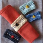 Tricoter rond serviette