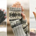 Tricot gants aiguille circulaire
