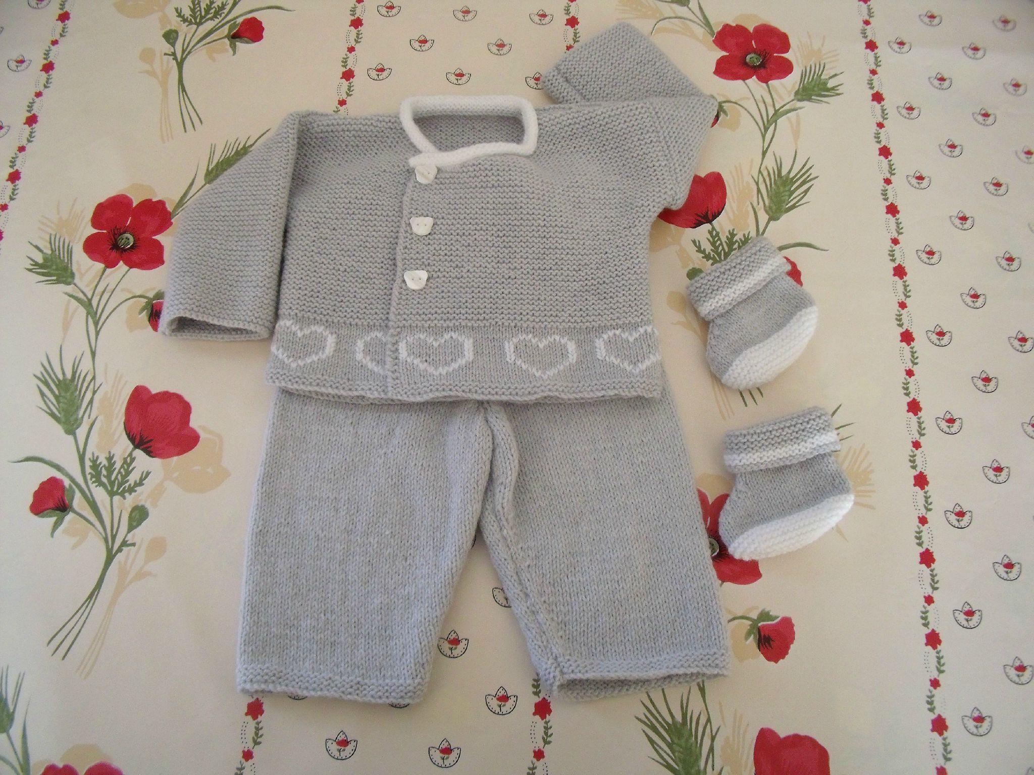 Brassière bébé tricot bergere de france