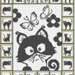 Tricot avec motif animaux
