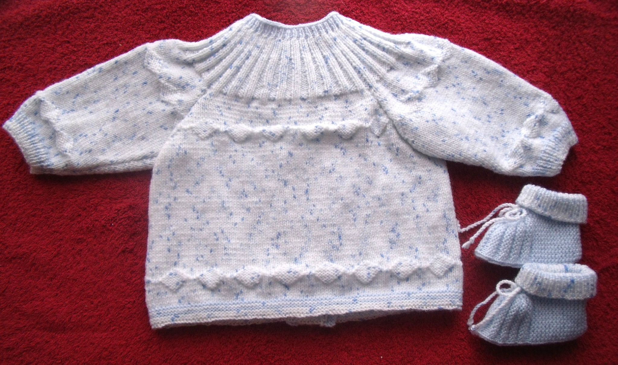 Tricot brassiere taille naissance