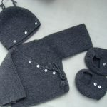 Tricot brassiere en laine