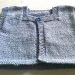 Layette tricot niveau débutant